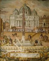 ベルニーニののプランの前の広場:Istituto Massimo所蔵