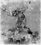 San Francesco adora il Crocifisso 1666