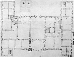 バルベリーニ宮の設計図