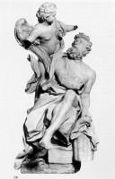 予言者ハバクク Abacuc e l'angelo テラコッタモデル S.M.デル・ポポロ  ヴァチカン美術館所蔵