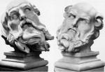 Crisostomo 1661-62 Modello della testa di Sant'Atanasio 1661-63
