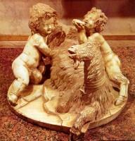 007-015山羊の乳をもらうジュピターとファウヌス