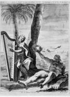 Davide vecchio suona la lira1638