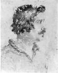 Ritratto d'uomo di profili 1630-35