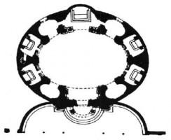 208-003サンタンドレア・クイリナーレの図面