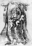 Disegno per la memoria a Suor Maria Raggi 1645 :ヴァチカン美術館所蔵
