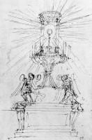 332-014秘蹟の礼拝堂のデッサン