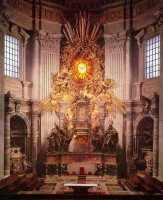 004-026聖ペテロの司教座の祭壇