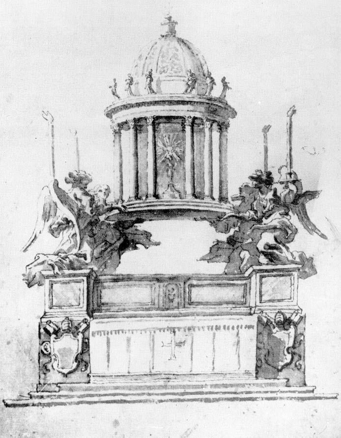 371-001秘蹟の礼拝堂の構想案