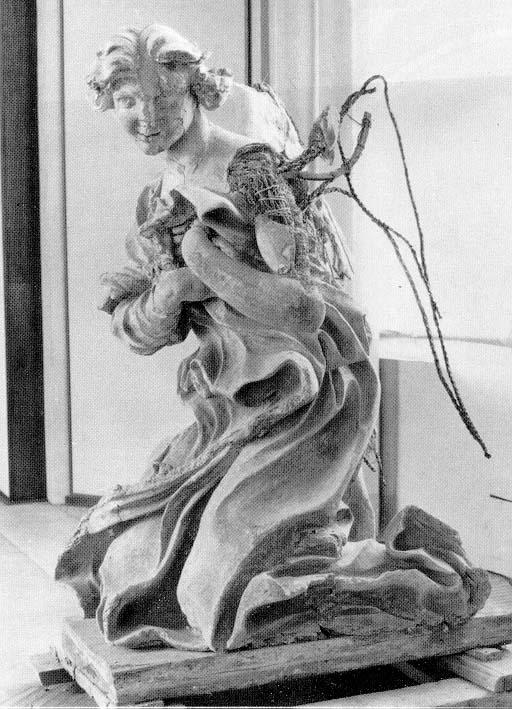 Angelo di destra 1673