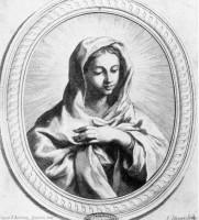 La Madonnna in preghiera