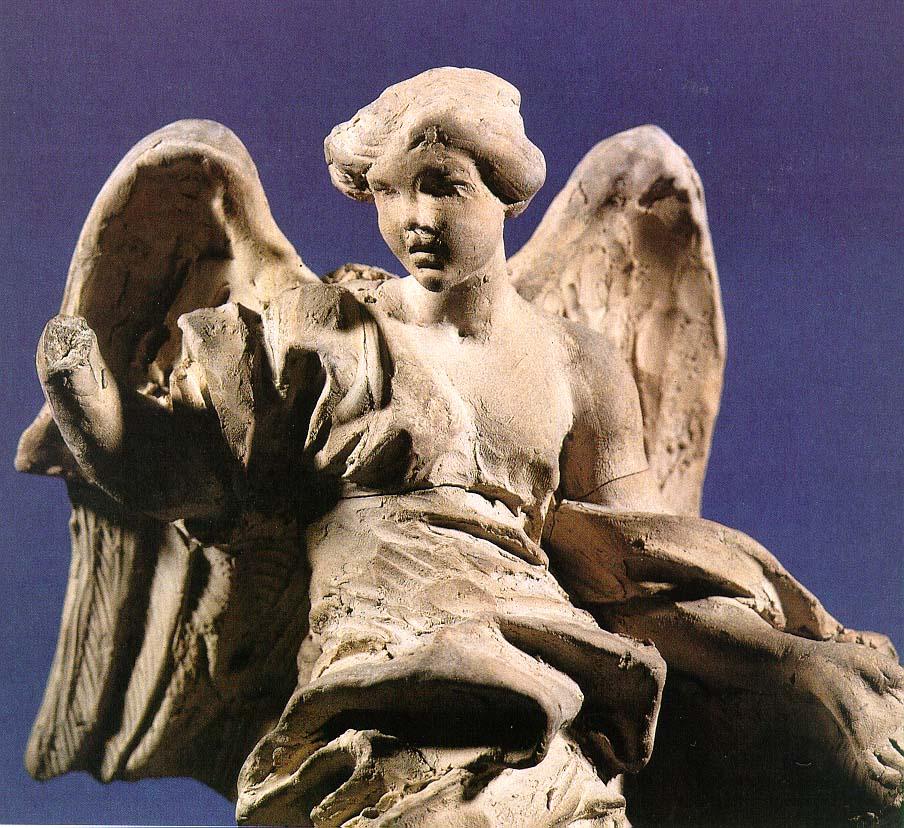 328-008秘蹟の礼拝堂チボリウムの天使像