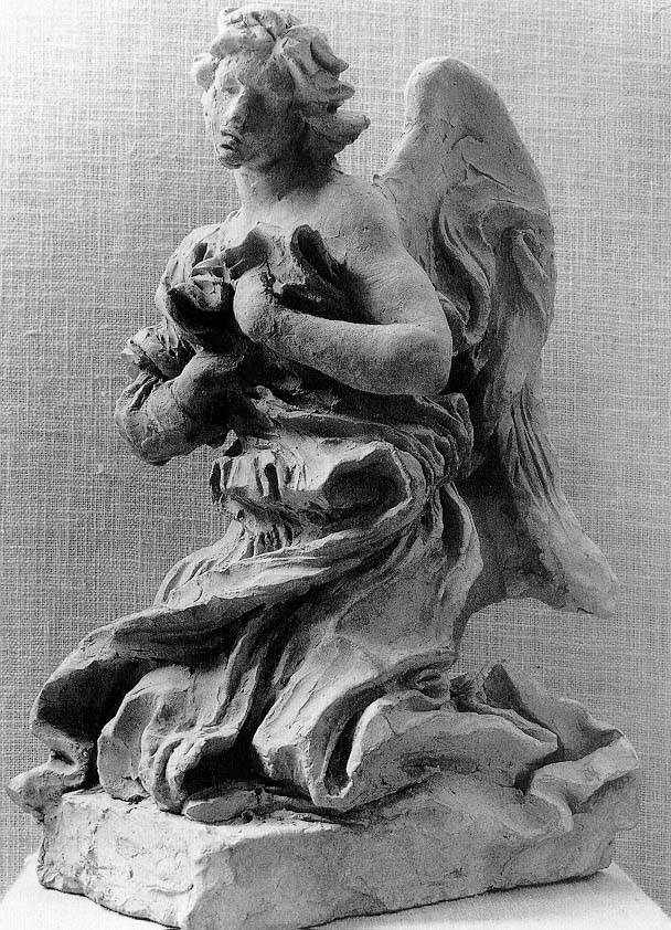 328-009秘蹟の礼拝堂天使テラコッタ