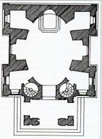 205-06チャペルの平面図