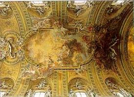 041-003ジェズ聖堂の天井画
