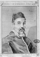 Ritratto del papa UrbanoⅧ 1631