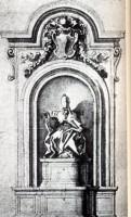 337-01シエナ大聖堂のアレッサンドロ7世のスケッチ