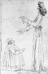Caricatura di due prelati