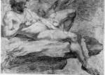 Accademia(nudo disteso) 1640-45 アリッチャの、キージ宮殿から
