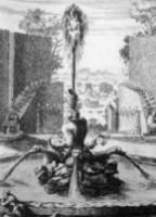 マッティ家の別荘にあったトリトーネの噴水:所蔵不明
