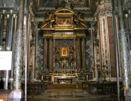 Santa Maria Maggiore-Sforza Chapel by Michelangelo
